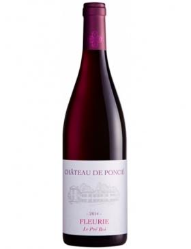 Château de Poncié - Fleurie Le Pré Roi - Rouge - 2014 - Vin Fleurie
