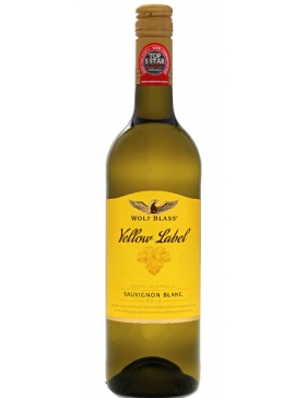 Wolf Blass Yellow Label Sauvignon - Vin Australie