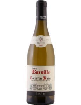 Maison Brotte - Côtes du Rhône Esprit de Barville - Blanc