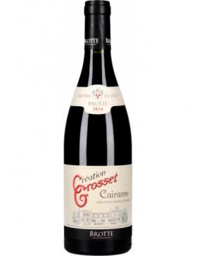Maison Brotte - Cairanne Création Grosset - Vin Vallée du Rhône