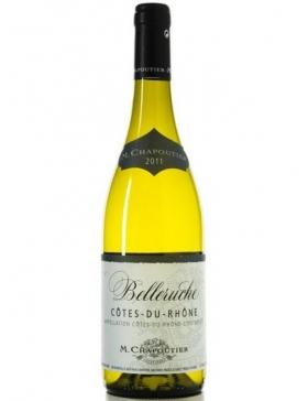 M.Chapoutier - Côtes du Rhône Belleruche - Blanc