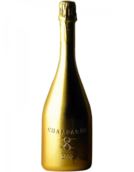 champagne infinite eight golden age 2002 coffret
