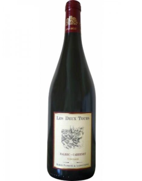 Baron de Ladoucette Touraine - Les Deux Tours - Malbec Cabernet