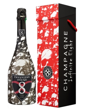 Infinite Eight Brut Cuvée Skull Edition - Champagne AOC Infinite Eight