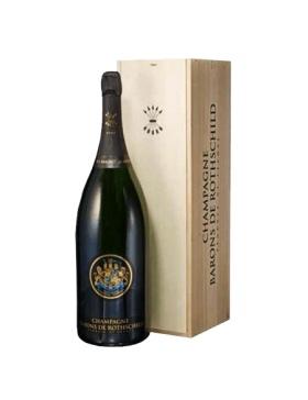 Barons De Rothschild Brut Jéroboam Caisse Bois - Champagne AOC Barons de Rothschild