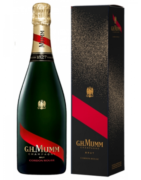 Champagne Mumm Cordon rouge etui