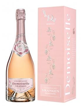Champagne avec étui et coffret - Vranken Cuvée Demoiselle Grande Cuvée Rosé Etui