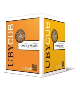 Uby CUB Blanc doux 3L BIB