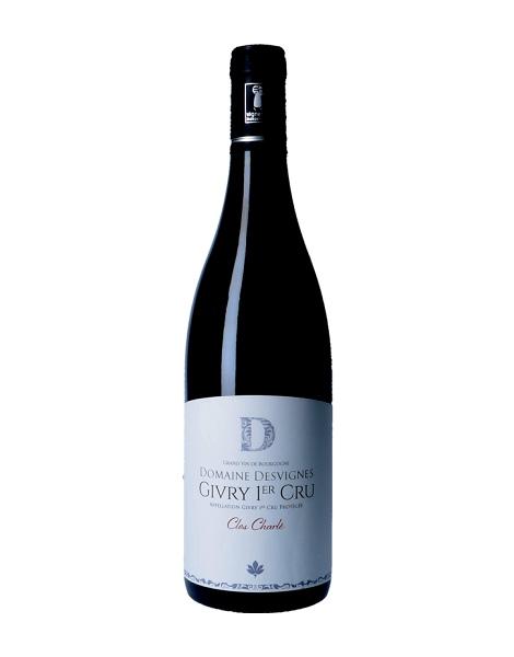Domaine Desvignes - Givry 1er Cru Clos Charlé - 2017