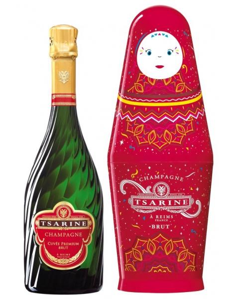 Tsarine Cuvée Premium - Coffret Poupée Russe