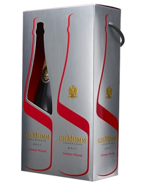 Mumm Cordon Rouge - Coffret 2 bouteilles - Champagne AOC Mumm