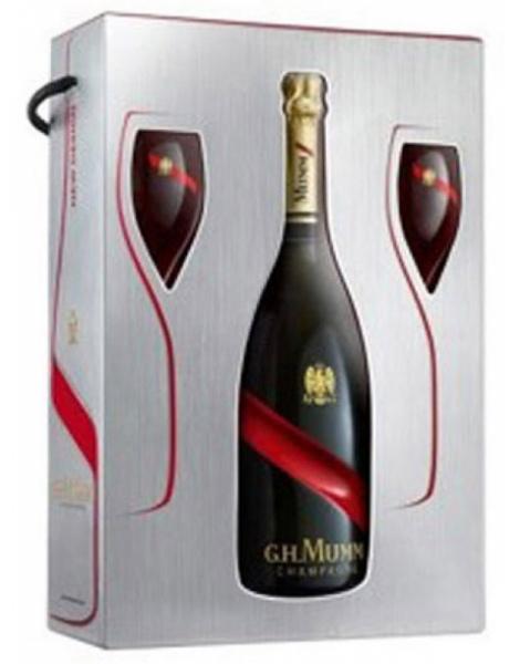 Mumm Grand Cordon - Coffret 2 Flûtes