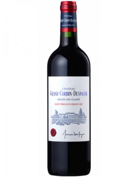 Caisse Bois - Château Grand Corbin Despagne - 2014