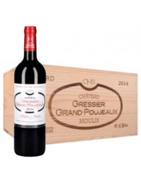 Château Gressier Grand Poujeaux - Caisse Bois - 2014