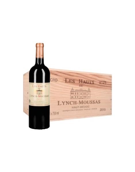 Les Hauts de Lynch Moussas - Caisse bois X6 - 2015