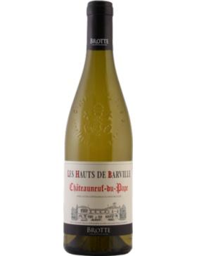 Maison Brotte - Les Hauts de Barville - Blanc - 2018 - Vin Châteauneuf-du-Pape
