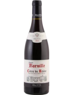 Maison Brotte - Esprit de Barville - Rouge - 2017
