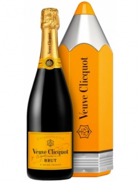 Veuve Clicquot Carte jaune - Coffret Pencil