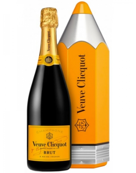 Veuve Clicquot Carte jaune - Coffret Pencil