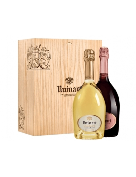 Ruinart Coffret Duo Blanc de Blancs et Rosé - Champagne AOC Ruinart