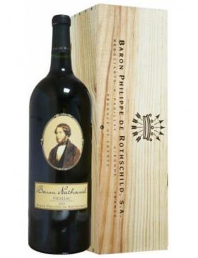 Cuvée Baron Nathaniel Rouge Magnum - Caisse bois - Vin Pauillac