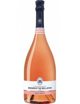 Besserat de Bellefon - Besserat Cuvée des Moines Brut Rosé Magnum