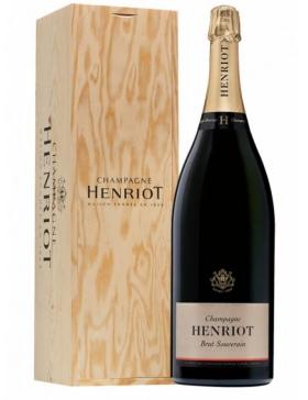 Henriot - Brut Souverain - Jeroboam - Caisse bois