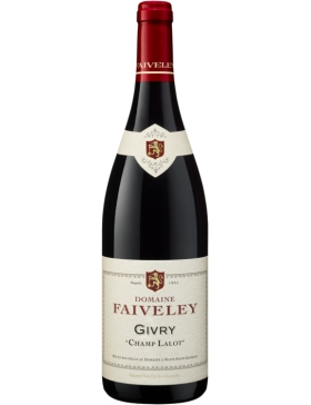 Domaine Faiveley Givry Champ Lalot Rouge -2015 - Vin Givry