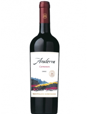Anderra Carmenere Rouge - 2018 - Vin Central Valley
