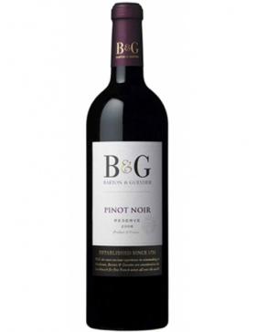 Barton & Guestier - Pinot Noir - 2019 - Vin IGP Ile de Beauté