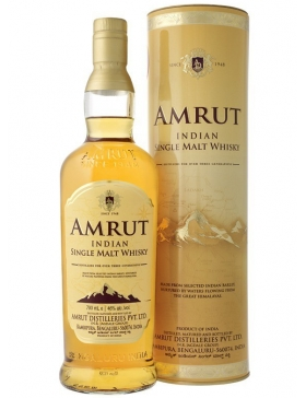 Amrut Indian Whiskey 46° - Spiritueux Whisky du Monde