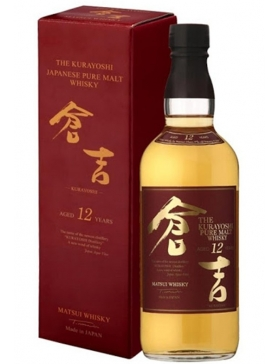 The Kurayoshi - Pure Malt 12 Ans - Spiritueux Japon