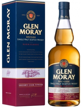 Glen Moray Sherry Cask Finish - Spiritueux Ecosse / Speyside