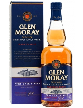 Glen Moray Port Cask Finish - Spiritueux Ecosse / Speyside