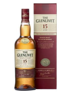 The Glenlivet French Oak 15 Ans - Spiritueux Ecosse / Speyside