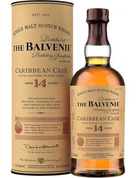 The Balvenie Carribbean Cask 14 Ans - Spiritueux Ecosse / Speyside