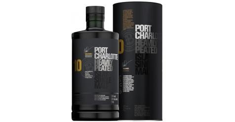 Bruichladdich Port Charlotte 10 Ans 50° Islay Single Malt