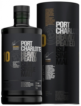 Bruichladdich Port Charlotte 10 Ans 50° Islay Single Malt - Spiritueux Ecosse / Islay