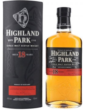 Highland Park 18 Ans - Spiritueux Ecosse / Islands