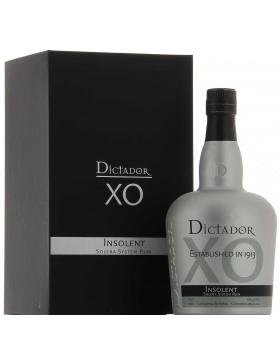 Dictador Xo Insolent Rum - Spiritueux Amériques du Sud
