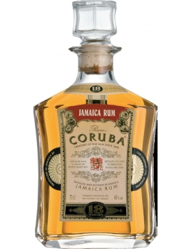 Coruba 18 Ans Jamaica Rum - Spiritueux Caraïbes