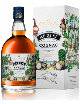 Cognac Camus Ile de Ré Fine Island - Spiritueux Cognac