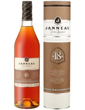 Armagnac Janneau 18 Ans - Etui Tube - Spiritueux Armagnac