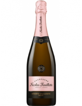 Nicolas Feuillatte Exclusive Brut Rosé - Champagne AOC Nicolas Feuillatte