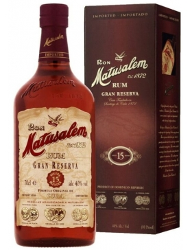 Matusalem Gran Reserva 15 ans Rum - Spiritueux Caraïbes