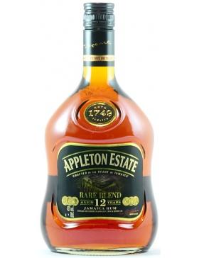 Appleton Rhum Rare Blend 12 ans - Spiritueux Caraïbes