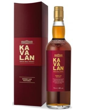 Kavalan Sherry Oak Whisky 46% - Spiritueux Whisky du Monde