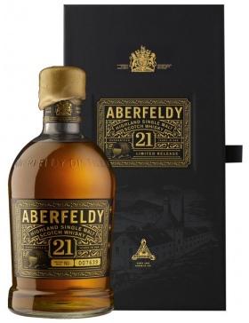 Aberfeldy 21 ans Scotch Whisky - Spiritueux Ecosse / Highlands