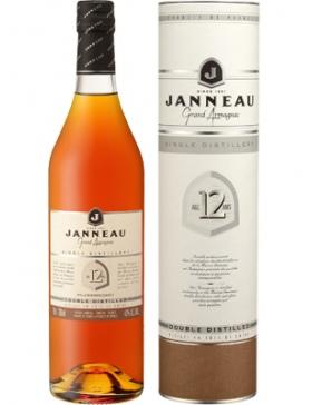 Armagnac Janneau 12 Ans - Spiritueux Armagnac