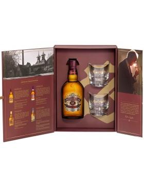 Chivas Régal - 12 ans Coffret 2 Verres - Spiritueux Blended Whisky